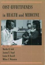 Cost-Effectiveness in Health and Medicine (1996, Hardcover)