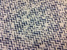 Jane Churchill Small Ric Rac Upholstery Fabric- Cortege/Blue  3.30 yd (J788F-02)