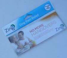 ZING Pain Relief : Gold Plated Magnets & Plasters : NO MORE HANGOVERS : Free p/p