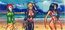 CYBERFORCE SUMMER 1996 INTREPID COMPLETE PROMO CARD SET P1 TO P3