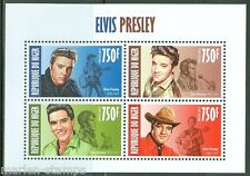 NIGER  2013  ELVIS PRESLEY SHEET OF FOUR MINT NH