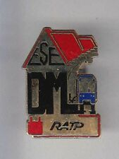 RARE PINS PIN'S .. TRAIN METRO RATP RAILWAYS ESE DM ~AJ