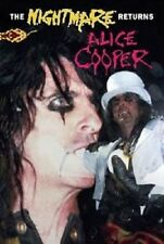 "ALICE COOPER ""THE NIGHTMARE RETURNS"" DVD NEUWARE!"