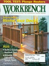 2001 Workbench Magazine: Revive Your Deck/Build Heirloom Bed/Simple Shelf