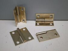 """(100) Polished Brass Lift-Off Two-Part Detachable Steel Cabinet Hinge 1-3/4"""""""