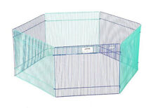 MIDWEST SMALL ANIMAL PLAYPEN. RABBIT, GUINEA PIG, FERRET, CHINCHILLA. 15 X 9 (6)