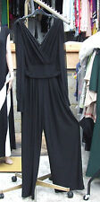 Frank Lyman Canada BNWT 10 Magnificnt Black Ruche Evening All-In-One Jumpsuit