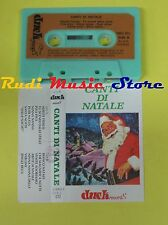 MC CANTI DI NATALE italy DUCK RECORDS DCK 012 no cd lp dvd vhs