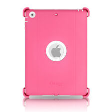 OtterBox Defender iPad Air Case & Stand Papaya Pink White Cover OEM New Original