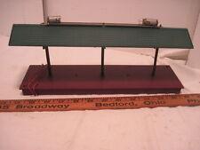 OLD TRAIN RAIL ROAD # 157 STATION PLATFORM ACCESSORIES LOADING STATION