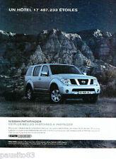 PUBLICITE ADVERTISING 096  2005  le Nissan 4x4  Pathfinder