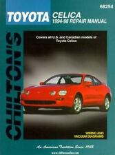 Toyota Celica, 1994-98 (Chilton's Total Car Care Repair Manual)-ExLibrary