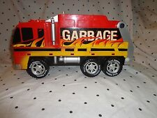 "Toy State Garbage Truck Sound Mute Button Road Rippers Vehicle 15"" Toy"