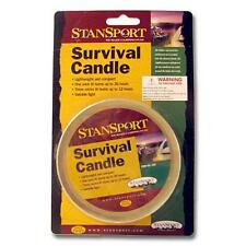Survival Candle Up to 36 Hours Emergency Gear Light Supplies Camping Bug Out Bag