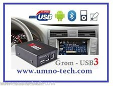 VOLVO S40,S60,V70,S80,XC70 mit HU-xxx,GROM USB3 iPhone Android MP3 AUX Interface