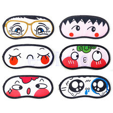 Soft sleep eye masks for sleeping aid travel cute mask cover shield Cartoon HM