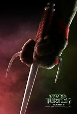 Teenage Mutant Ninja Turtles TMNT (2014) Movie Poster (24x36) - Raphael