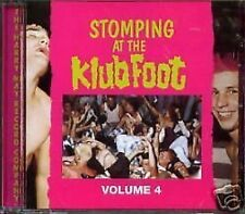 Stomping At The Klub Foot 4 CD NEW SEALED Psychobilly