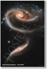 Interacting Galaxies - Arp 273 - NEW Classroom Astronomy Poster
