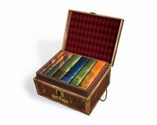 Harry Potter Hardcover Limited Ed Box Set w/7 Books, Chest BRAND NEW CHEAP SHIP