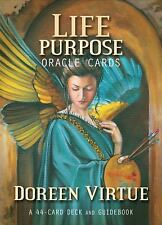 Life Purpose : Oracle Cards - A 44-Card Deck and Guidebook by Doreen Virtue...