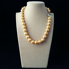 12mm AAA+ 18'' south sea shell pearl fashion necklace