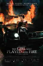 THE GIRL WHO PLAYED WITH FIRE Movie Promo POSTER B Noomi Rapace Michael Nyqvist