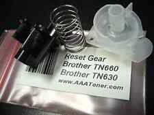 Reset Gear for Brother TN-660 TN-630 Toner Cartridge Refill (STARTER or OEM)