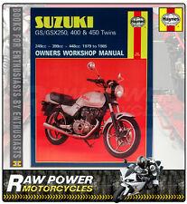 Suzuki GSX400 T (399cc) 1981 - 1984 Haynes Manual (0736)