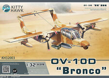 "NORTH AMERICAN OV-10D ""BRONCO"" Guerre du Golf  - KIT KITTY-HAWK 1/32 N° 32003"
