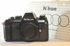 Nikon N2000 FILM SLR camera F-301 in Europe WORKING TESTED