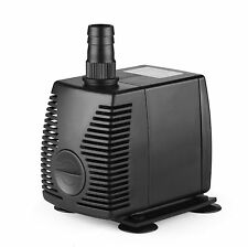 320 GPH Submersible Pump Aquarium Fish Tank Powerhead Fountain Water Hydroponic