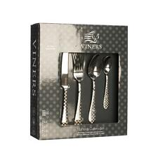 Viners Polka Dot 16 Piece 18/10 Stainless Steel Cutlery Set 25yr Guarantee