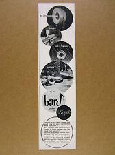 1962 Bozak Bard indoor-outdoor Hi-Fi Speaker photo vintage print Ad