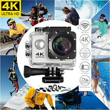 16M Wifi HD Ultra 4K Cycle Sports Action Camera Waterproof Helmet Cam DV+ K