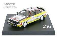Audi Quattro A2 - Safari Rallye 1984 - Mikkola / Hertz - 1:43 Trofeu 1613