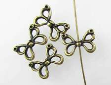 Butterfly Bead TierraCast Antiqued Brass Ox Metal Open Wing Bronze Finding 15mm
