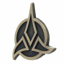 Star Trek Classic Original TV Series Klingon Logo Metal Lapel Pin, NEW UNUSED