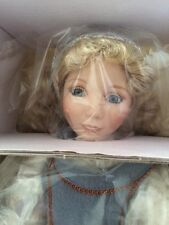 Knowles CINDERELLA  IN RAGS porcelain doll  NEW MIB + SHIPPER COA -EFFNER
