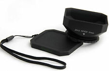 37mm Lens Hood Shade Cap For Canon HR10 HF20 HV10 HF200
