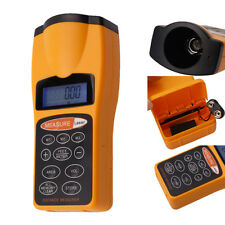CP-3007 LCD Ultrasonic Distance Measurer with Laser Pointer Distance Meter 60FT