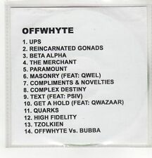 (GH408) Offwhyte, The Fifth Sun - DJ CD