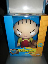 RARE FAMILY GUY DELUXE TALKING STEWIE/TEDDY TOY DOLL FIGURE BY MEZCO NIB