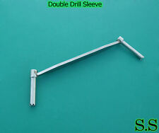 Double Drill Sleeve 2.5 & 3.5 mm Orthopedic Instruments