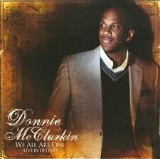 We All Are One (CD) Donnie McClurkin Live Detroit  (SEALED and NEW) Shelf GS 7