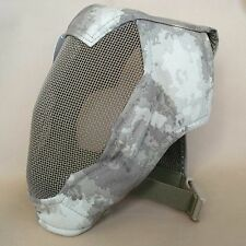 NEW Airsoft CS Paintball Extreme Metal Mesh Full Face Protection Mask Camo L957