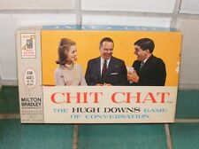 CHIT CHAT The Hugh Downs Game of Conversation By Milton Bradley #4315 (Complete)