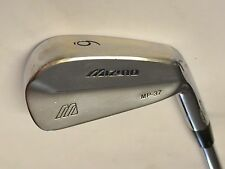 MIZUNO Grain Flow Forged MP37 6 Iron True Temper R300 Steel Shaft MP-37