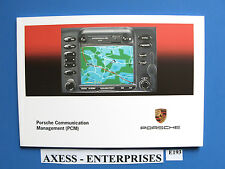 Porsche 911 996 986 PCM Navigation Owners Manual Book User Operation Guide E193I