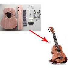 Sapele Four Strings Ukulele DIY Soprano Hawaii Make Your Own Ukulele Kit